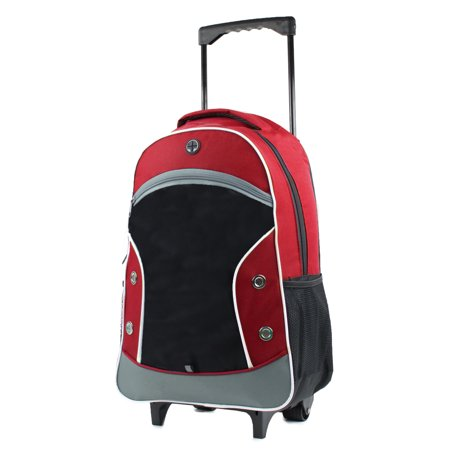 Dual-Tone 20 in. Carry-On Red/Black Rolling