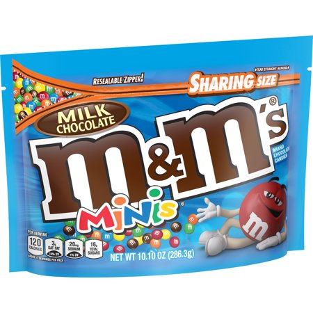 M&Ms Milk Chocolate Minis - 10.1 - Sharing Size