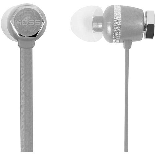 Koss Sleek Colors Noise Isolating In-Ear Headphones, RUK30B, Blue