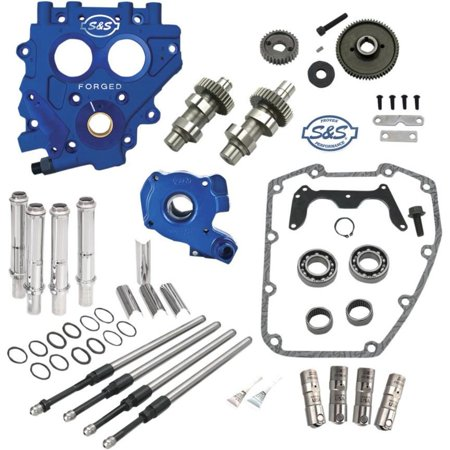 S&S Cycle 310-0811 510G Cam Chest Gear Drive Kit - Standard Cams (Cam Gears B16)