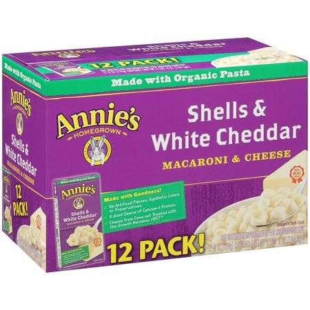 Discount Shell - Product of Annie's Shells & White Cheddar Sauce, 12 pk./6 oz. [Biz Discount]