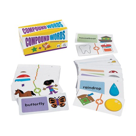 Compound Words Game (Fun Express - Compound Word Guessing Game - Educational - Teaching Aids - Language Arts - 100)