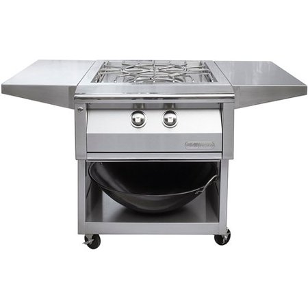 - Alfresco Versa Power Cart for the Built-In Versa Power Cooking System for Gas Grill