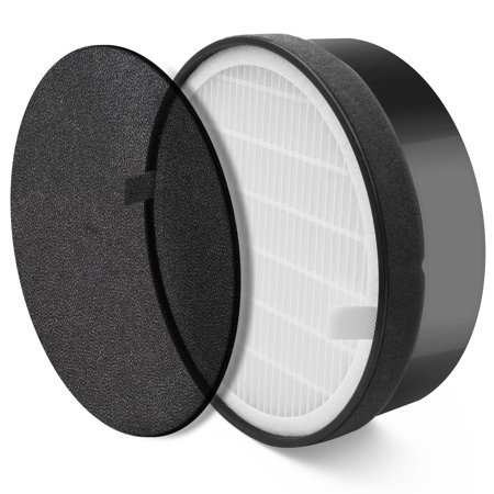 levoit air purifier lv h132 replacement filter true hepa and activated carbon filters set lv. Black Bedroom Furniture Sets. Home Design Ideas