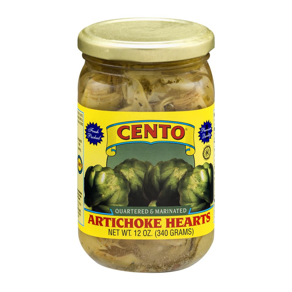 Cento Artichoke Hearts Quartered & Marinated, 12.0 OZ