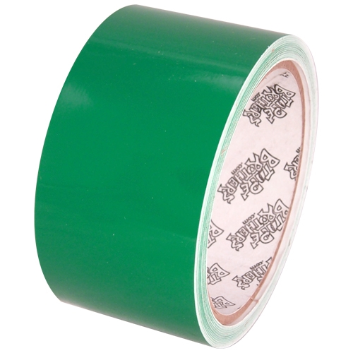 "Tape Planet 3 mil 2"" x 10 yard Roll Medium Green Outdoor Vinyl Tape"