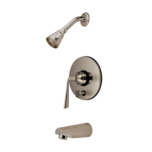 Kingston Brass Silver Sage Single Handle Tub and Shower Faucet