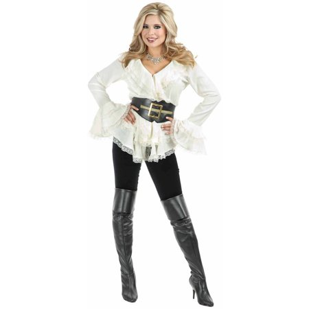 South Seas Adult Blouse Women's Adult Halloween Costume