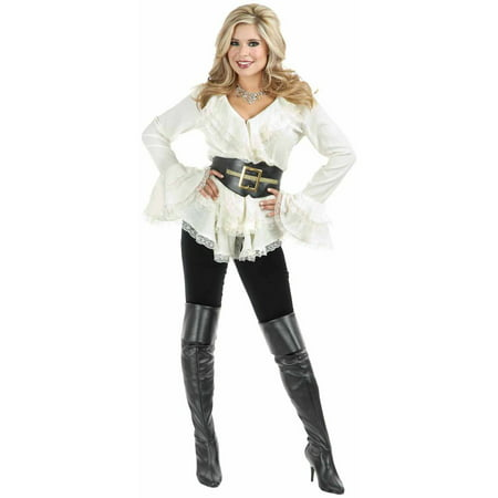 South Seas Adult Blouse Women's Adult Halloween Costume - Sea Siren Halloween Costume