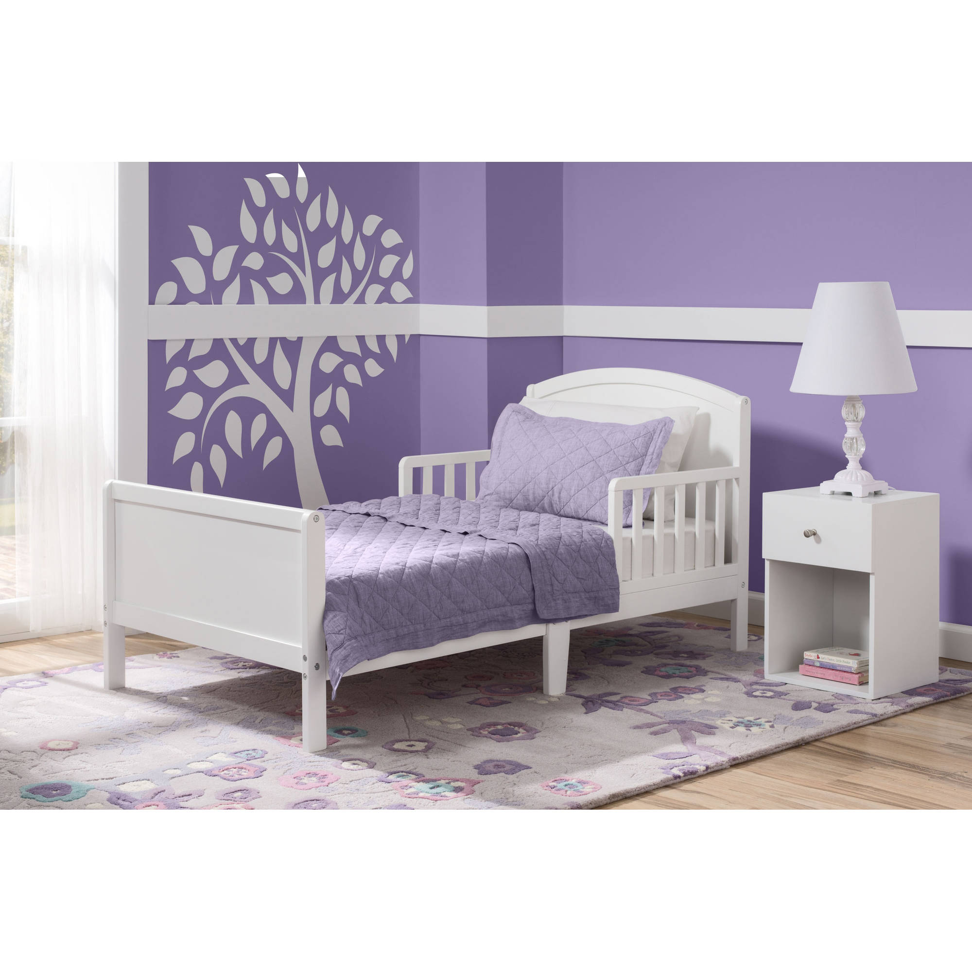 Delta Children Archer Toddler Bed Gray