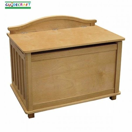 Guidecraft Toy Box, Classic Mission Oak Toy Box
