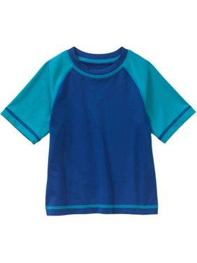 f56019b0732 Product Image Newborn Baby Boys  Short Sleeve Swimwear Rash Guard T