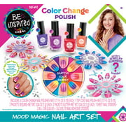 Cra-Z-Art Be Inspired Mood Magic Girls Nail Polish Art Kit