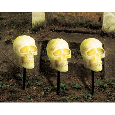 halloween skull pathway lights and sound - Halloween Pathway Lights