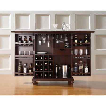 Crosley Furniture Cambridge Expandable Bar Cabinet