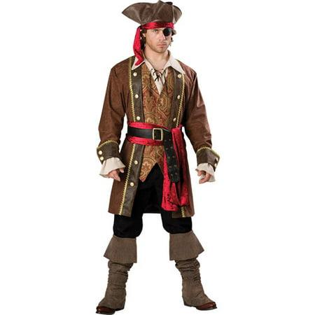 Captain Skullduggery Elite GB Adult Halloween Costume