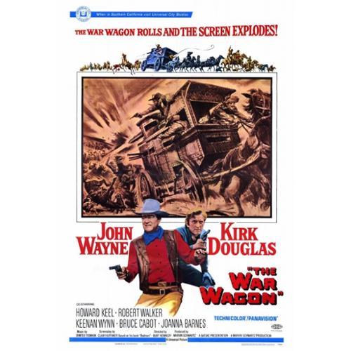 The War Wagon Movie Poster Print (27 x 40)