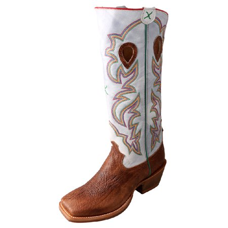 19c846e7662 Twisted X - Twisted X Western Boots Mens Buckaroo Square Cognac ...