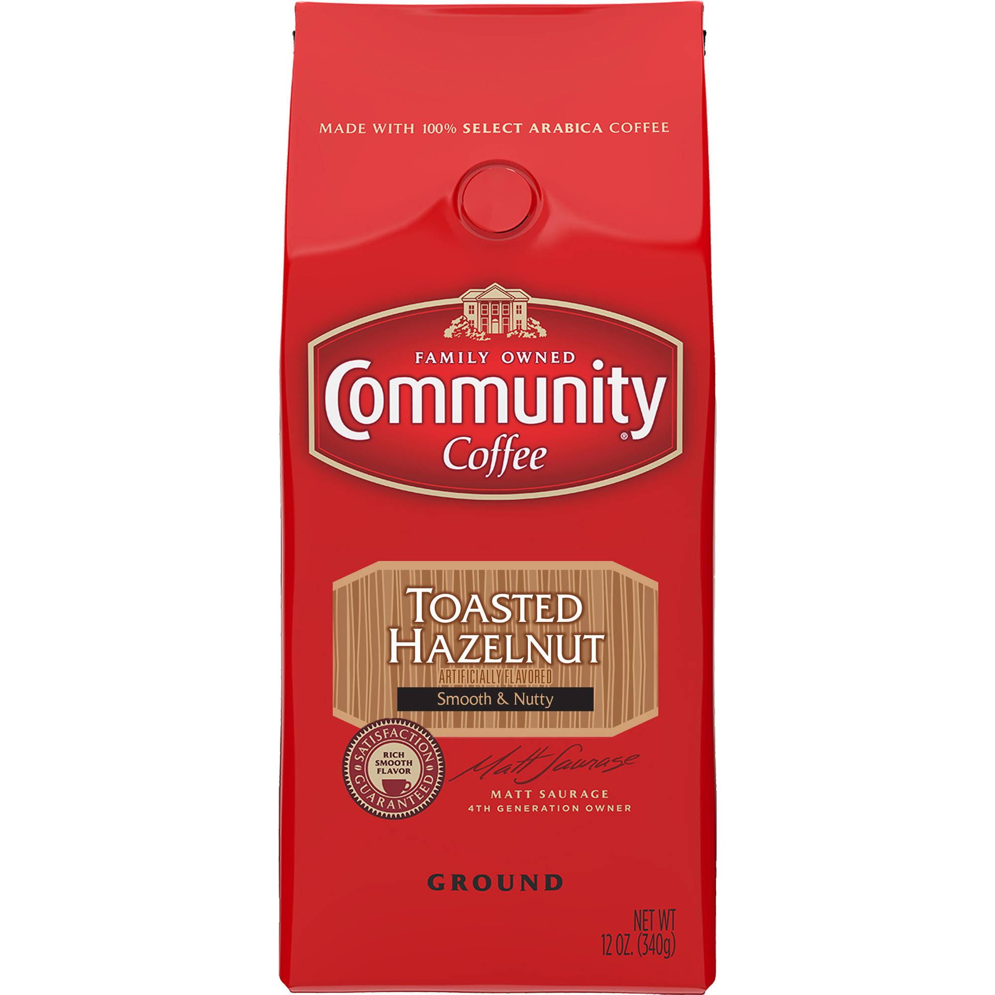 Community Hazelnut Ground Coffee, 12 oz
