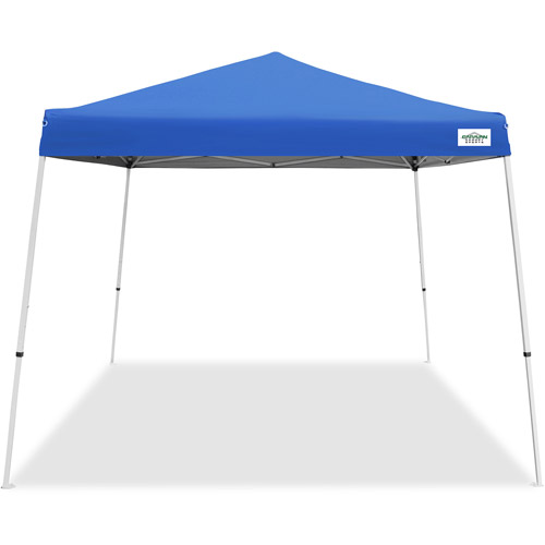 Caravan Canopy Sports 10' x 10' V-Series 2 Instant Canopy Kit, White (64 sq ft Coverage)
