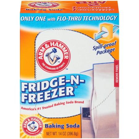 Arm & Hammer Baking Soda Fridge-n-Freezer Odor Absorber, 14 oz. Arm & Hammer Baking Soda