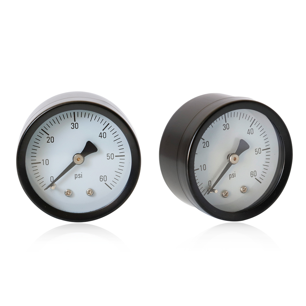 "0-60psi Air Axial Pressure Measuring Gauge Tool 1//4/"" NPT For Water Oil Gas Fuel"
