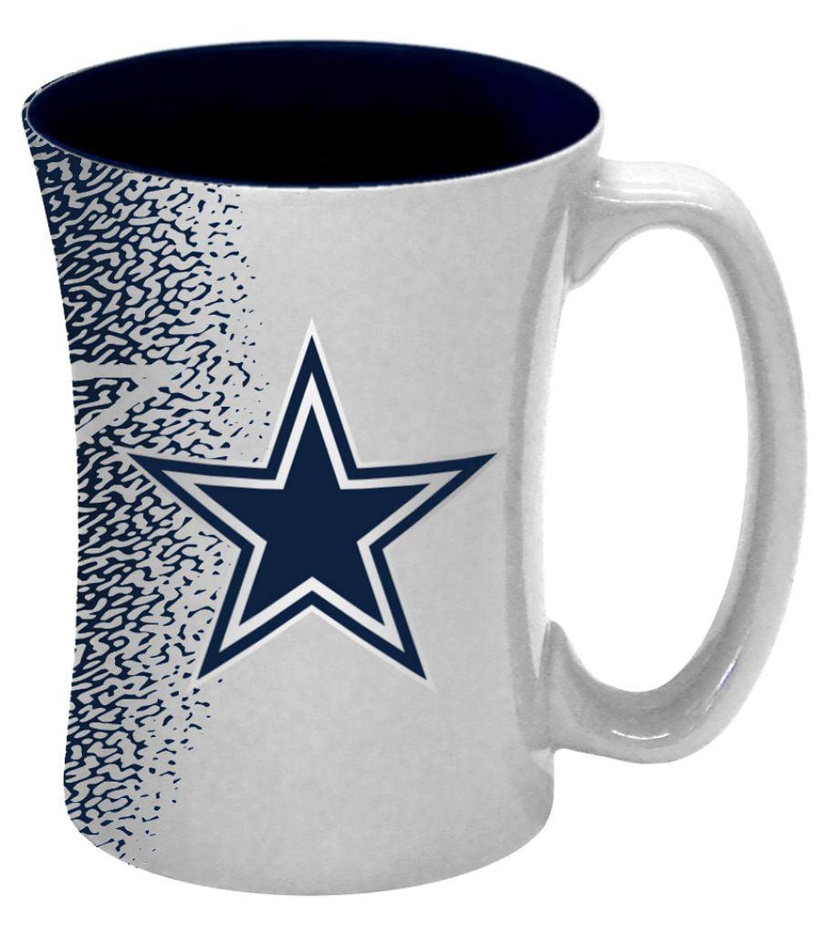 Dallas Cowboys Coffee Mug - 14 Oz Mocha