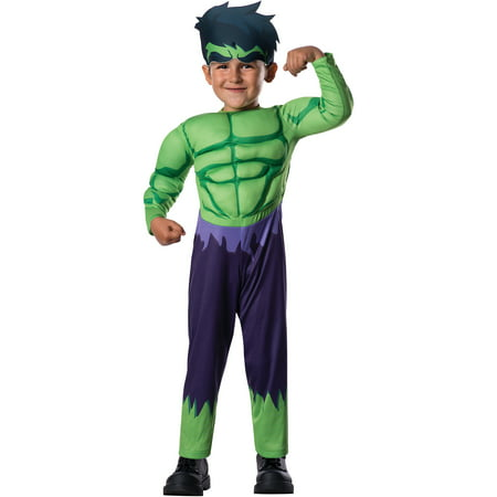 Avengers Hulk Toddler Halloween Costume](Toddler Statue Of Liberty Costume)