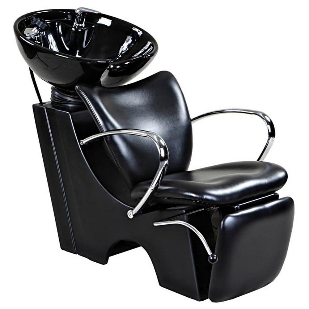 "Icarus ""Monroe"" Black Beauty Salon Backwash Chair & Sink ..."