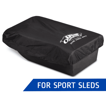 Otter Heavyweight Fabric Sport Sled Travel Cover Fits Otter Sport Sled - Shappell Jet Sled Cover