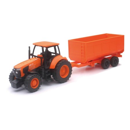 1:32 Kubota Farm Tractor And Trailer - image 4 of 4