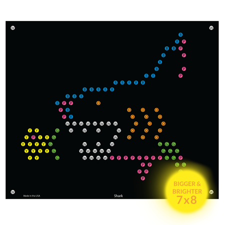 Lite Brite Refill: Under the Sea for Ultimate Classic - NOT FOR OLDER LITE BRIGHT