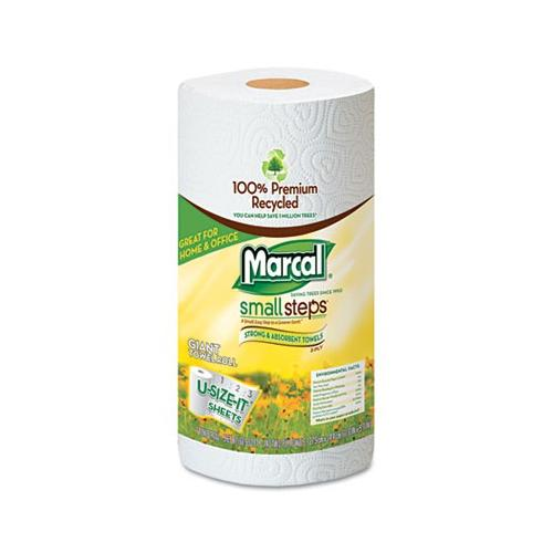 Marcal Premium Recycled Roll Towels, Roll-out, 11 X 5-3/4 MAC6183