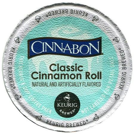 Keurig Classic K-Cups, Cinnabon Cinnamon Roll, 24 Count ()