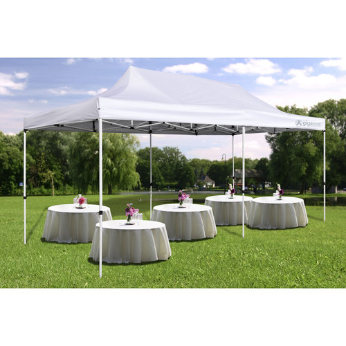 Gigatent The 10' x 20' Party Tent - White