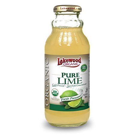Lakewood Organic PURE Lime Juice, 12.5-Ounce Bottles (Pack of 12) by Lakewood Organic Pure Life