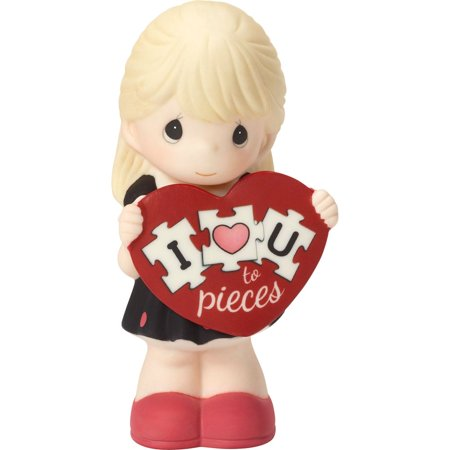 Precious Moments 163001 I Love You To Pieces Girl Figurine