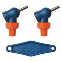 LOC-LINE 72050 Nozzle,XR Style,0.117in.dia,PK2