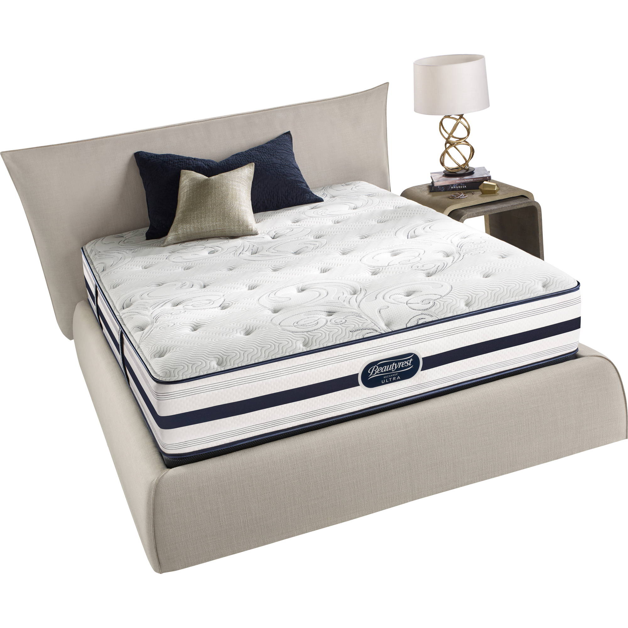 "Beautyrest Recharge Enchanting Stars 13.5"" Plush Mattress, Multiple Sizes"