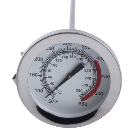 HC-TOP Stainless Steel Long Probe High Temperature Cooking Thermometer Kitchen Tool - image 7 of 8