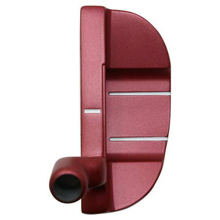 Bionik 105 Red Golf Putter Right Handed Semi Mallet Style with Alignment Line Up Hand Tool 38 Inches Ultra Big & Tall Men's Perfect for Lining up Your Putts Semi Mallet Putter