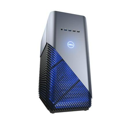 Dell Inspiron 5680 - Tower - 1 x Core i7 8700 / 3.2 GHz - RAM 16 GB - SSD 256 GB, HDD 1 TB - DVD-Writer - GF GTX 1070 - GigE - WLAN: Bluetooth 4.0, 802.11a/b/g/n/ac - Win 10 Home 64-bit - monitor: