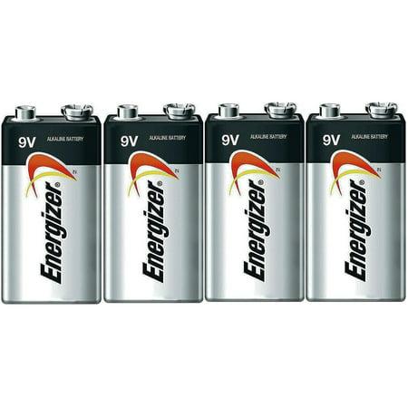 Volt Alkaline Battery (Energizer E522 Max 9 Volt Alkaline Battery - 4 Batteries + 30% Off! )