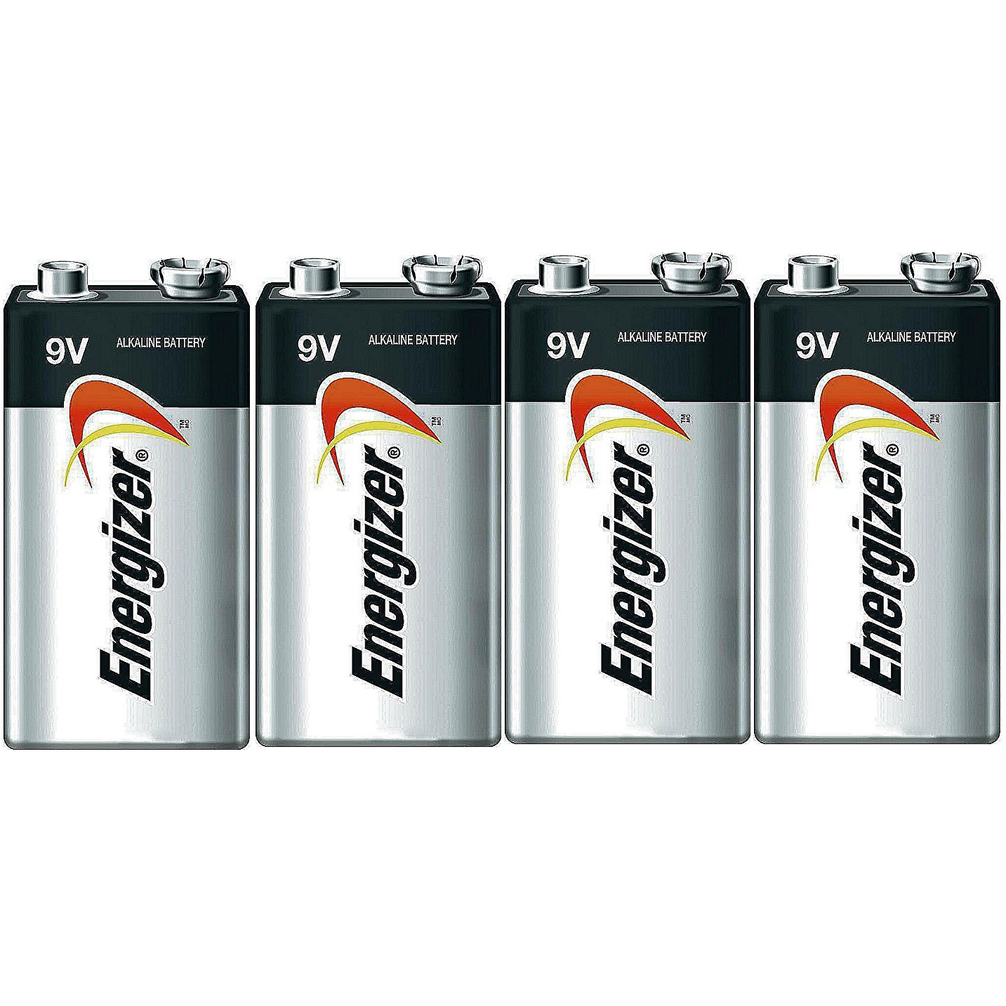 Energizer E522 Max 9 Volt Alkaline Battery - 4 Batteries + 30% Off!