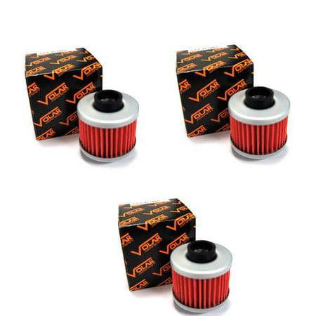 1999-2003 Aprilia Scarabeo 125 Oil Filter - Rotax Engine - (3 pieces)