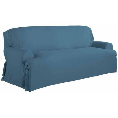 Serta Relaxed Fit Duck Furniture Slipcover, Sofa 1-Piece T Cushion by Generic
