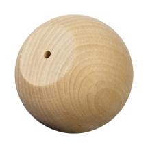 "WoodWorks 100 Pcs Ball Knob / Wood Doll Heads 2-1/2"" wide..."