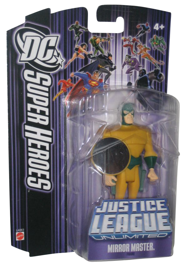 DC Comics Justice League Unlimited Mirror Master Mattel Action Figure by Mattel