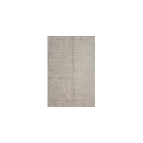 Jaipur Konstrukt Kelle RUG102366 8 inch W x 10 inch L Solid Pattern Wool and Silk Handloom Rug in Nickel