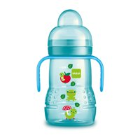 MAM Trainer Cup, Trainer Cups for Babies with Handles, Girl, 8 Ounces, 1-Count